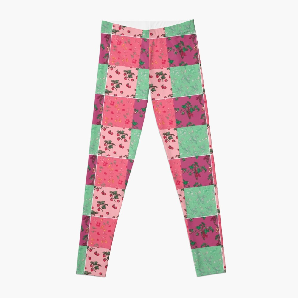 Decorative Berries Pattern Collection Leggings