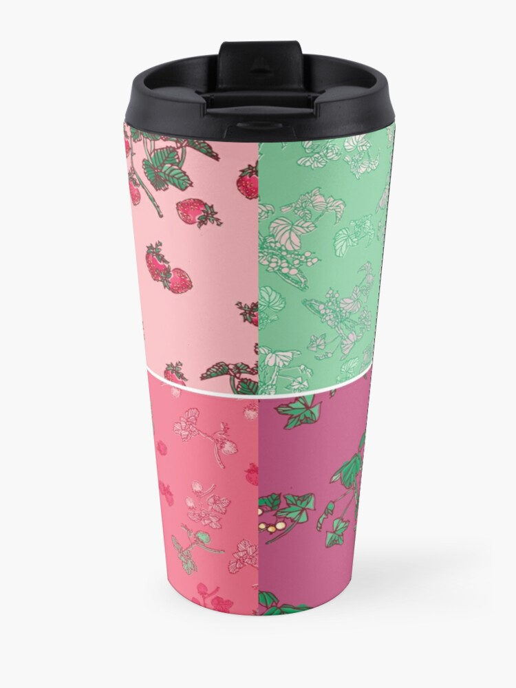 Alternate view of Decorative Berries Pattern Collection Travel Mug