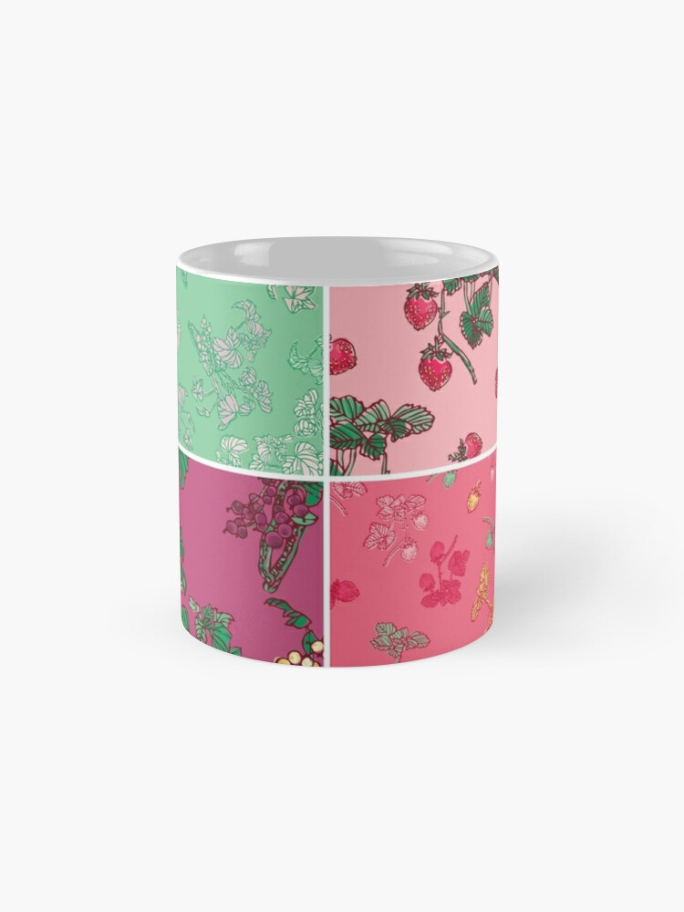 Alternate view of Decorative Berries Pattern Collection Mug