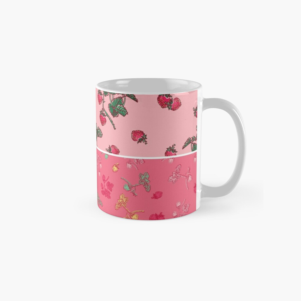 Decorative Berries Pattern Collection Mug