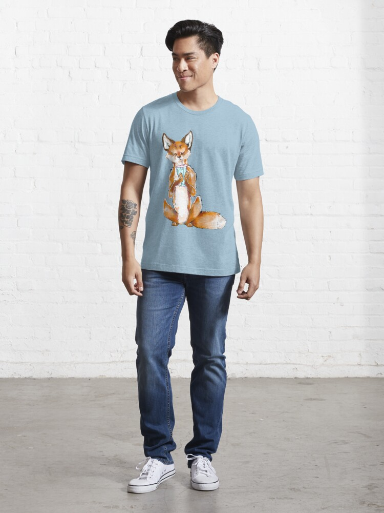 Alternate view of Slurpee Foxie Essential T-Shirt