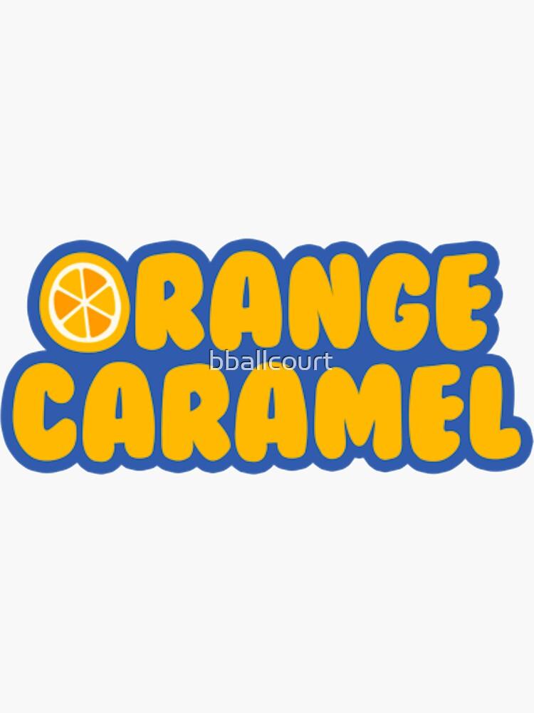 Orange Caramel - Logo - Color by bballcourt
