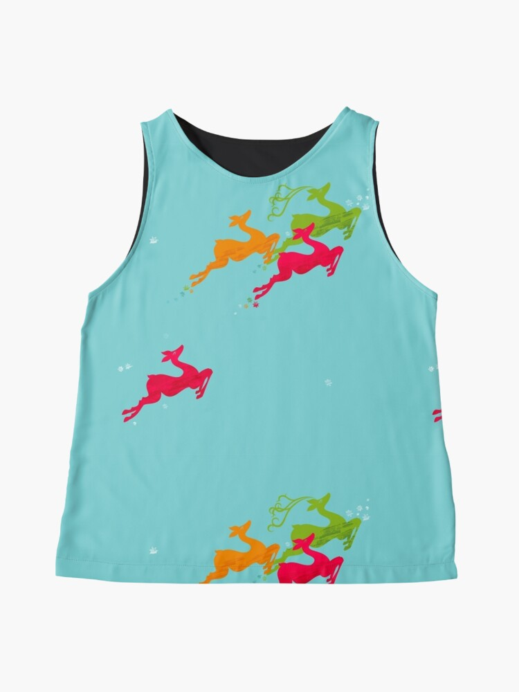 Alternate view of Winer Deer Sleeveless Top