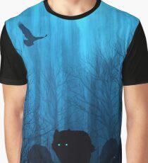 Wolf Pass: Blue Moon Zenith Graphic T-Shirt