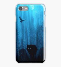 Wolf Pass: Blue Moon Zenith iPhone Case/Skin