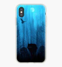 Wolf Pass: Blue Moon Zenith iPhone Case