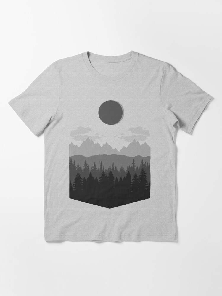 Alternate view of eclipse Essential T-Shirt