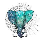 «Elefante » de Elreygrafico