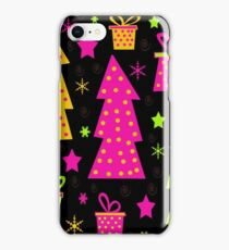 Playful colorful Xmas iPhone Case/Skin
