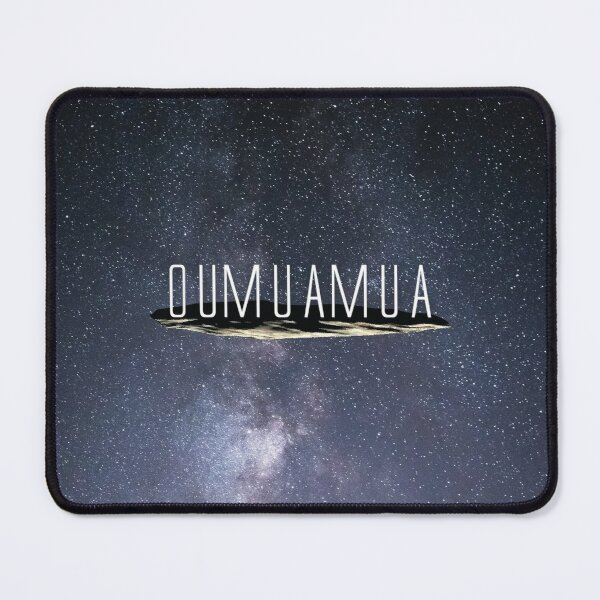 Visited by Oumuamua Mouse Pad