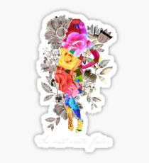 The Most Exotic Flower Sticker