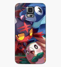 Pokemon Sun and Moon Starters Case/Skin for Samsung Galaxy