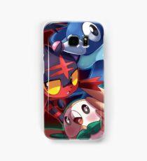Pokemon Sun and Moon Starters Samsung Galaxy Case/Skin