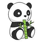 Panda love! by MallsD