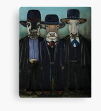 Real Cowboys the Wild Wild West Canvas Print