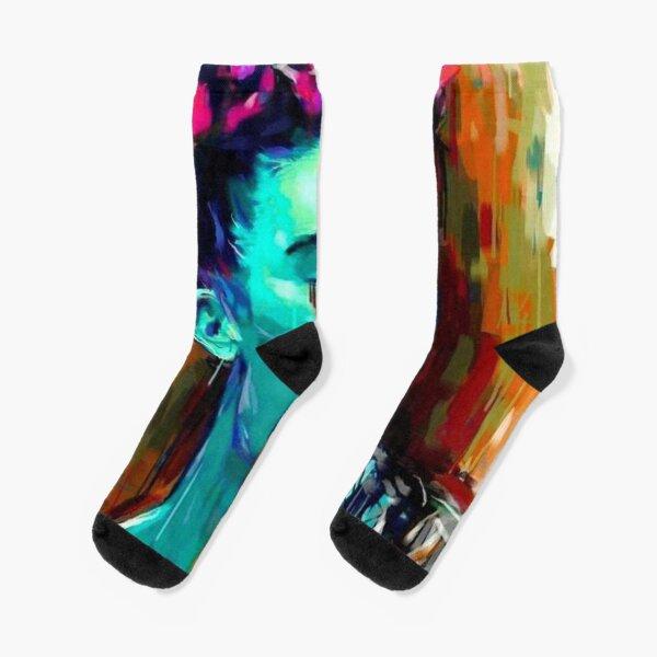 rainbow tears Socks