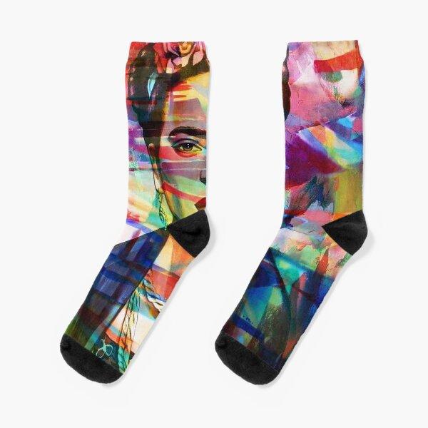 beauty abstract Socks