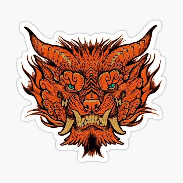 Foo Dog creature Sticker