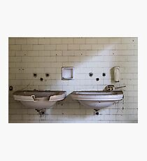 dilapidated bathrooms Photographic Print