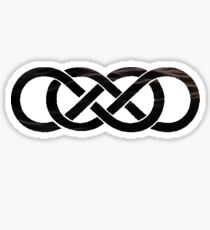 Revenge- Double Infinity Water Sticker