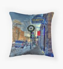 Holiday Time in Flagstaff Arizona Throw Pillow