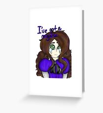 Migraine Greeting Card