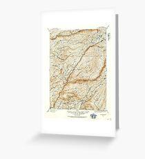USGS TOPO Map California CA Big Trees 299223 1891 125000 geo Greeting Card