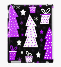 Purple playful Xmas iPad Case/Skin