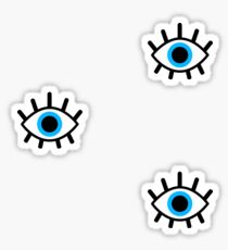 magic eye trio Sticker