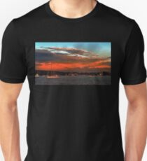 Nautical Bold Sunrise. Original exclusive photo art. Unisex T-Shirt