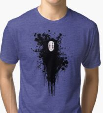 Ink face Tri-blend T-Shirt
