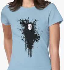 Ink face Women's Fitted T-Shirt