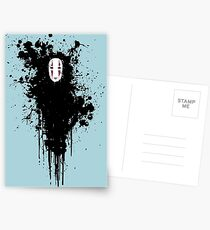 Ink face Postcards