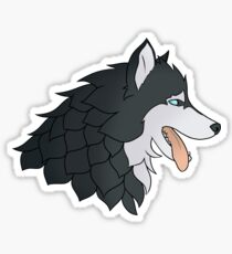 Game of Thrones - Stark (DOG-Version) Sticker