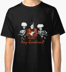 Any Questions? (David S. Pumpkin) Classic T-Shirt