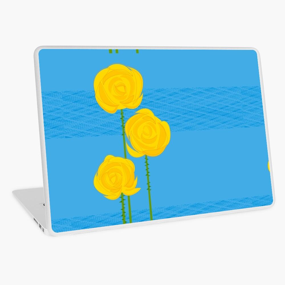 Yellow Roses Laptop Skin