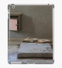 mattress in abandoned hospital iPad Case/Skin