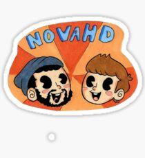 NovaHd Sticker