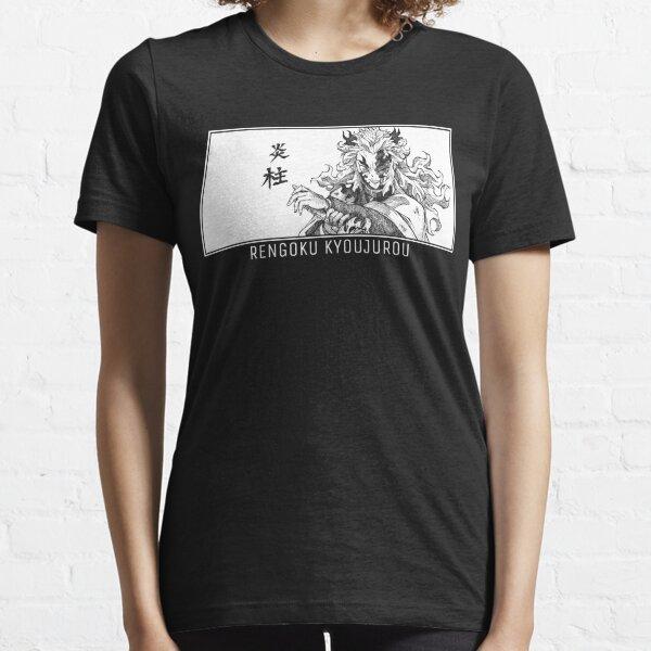 Rengoku Kyoujurou - Demon Slayer  - by Q10mark Essential T-Shirt