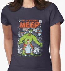 Incredible Meep Women's Fitted T-Shirt
