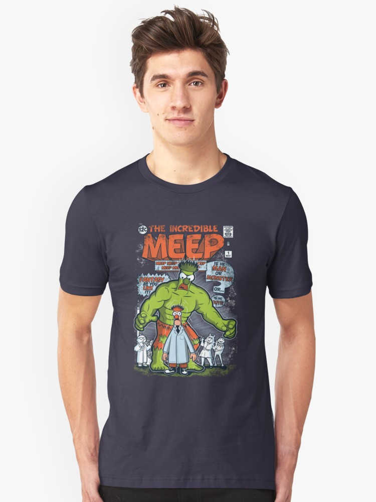 Incredible Meep Unisex T-Shirt Front