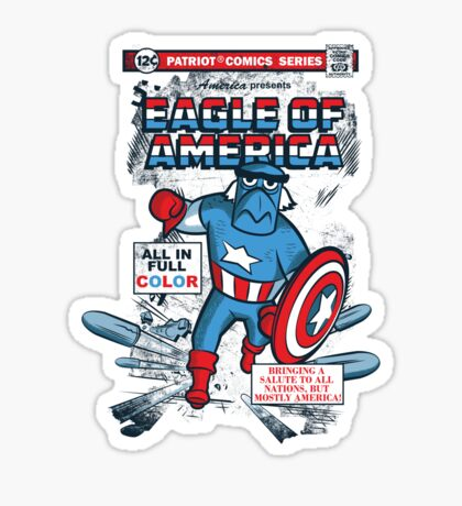 Eagle of America Sticker