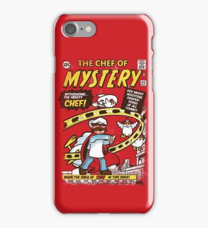 Chef of Mystery iPhone Case/Skin