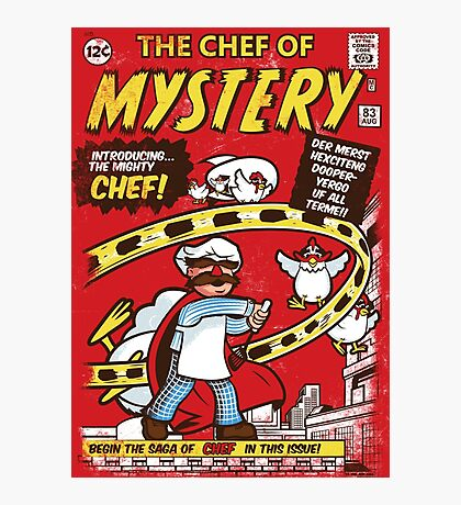 Chef of Mystery Photographic Print