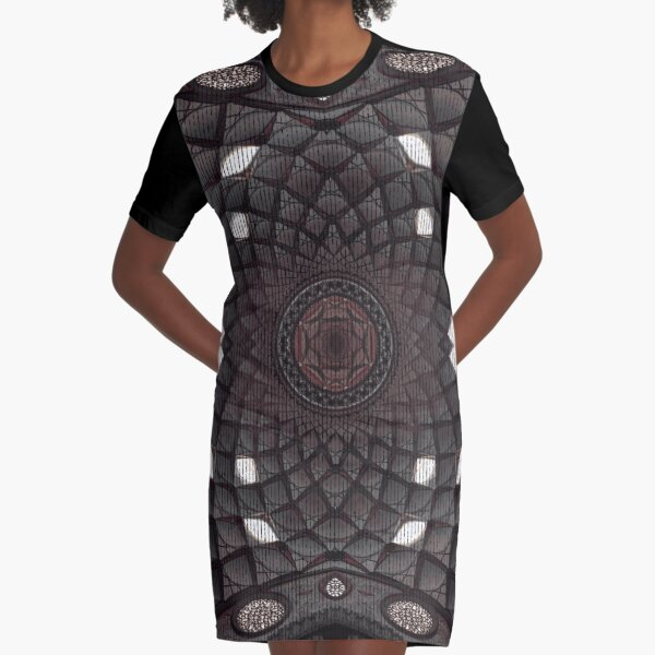 The dome of the house Graphic T-Shirt Dress