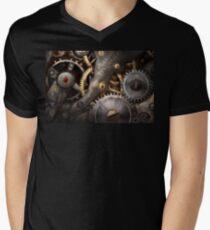 Steampunk - Gears - Horology Mens V-Neck T-Shirt