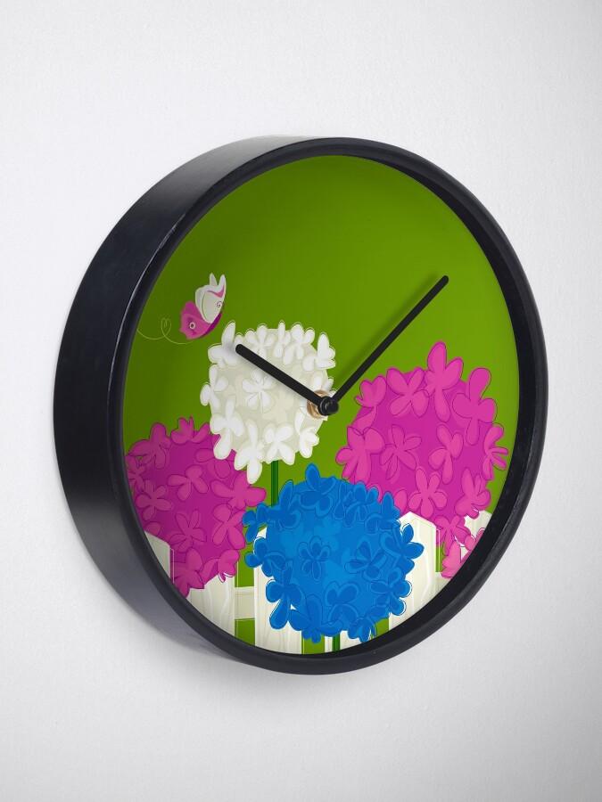 Alternate view of Flower Garden Clock