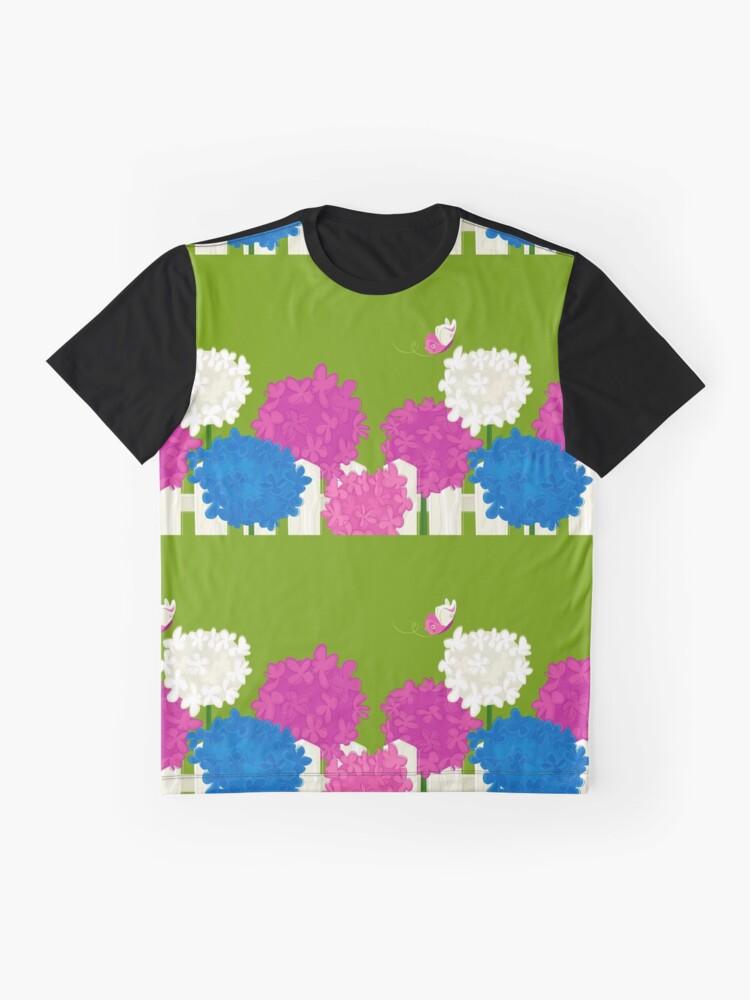 Alternate view of Flower Garden Graphic T-Shirt