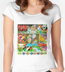 Pond - Man it Feels Like Space Again Women's Fitted Scoop T-Shirt
