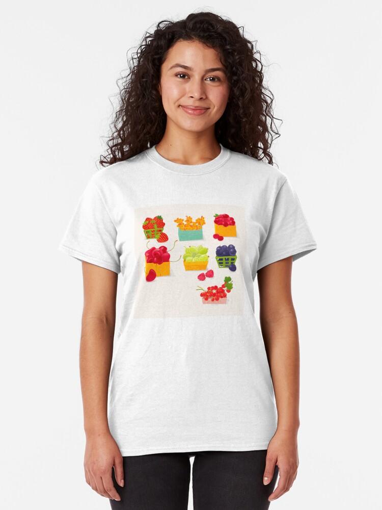 Alternate view of Sweet Berries Classic T-Shirt